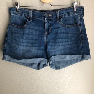 Pants - Semi Fitted Denim Shorts in Size 4
